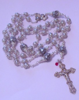 silver rosary 005