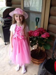 little girl hannah