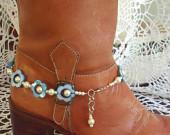 Spring time boot bracelet!