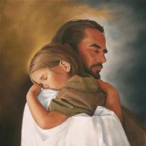 jesus and child